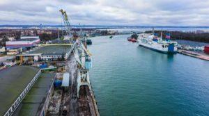 Nabrzeże Oliwskie Port Gdańsk / Portal Stoczniowy