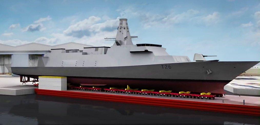 Fregata Type 26 / Portal Stoczniowy