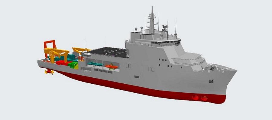 Włochy okręt ratowania załóg / Portal Stoczniowy