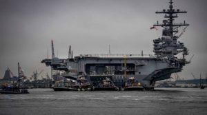 Lotniskowiec VII Floty US Navy / Portal Stoczniowy