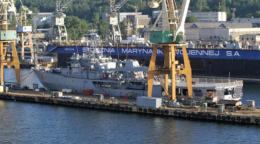 ORP Kontradmirał Xawery Czernicki zasłużył na remont