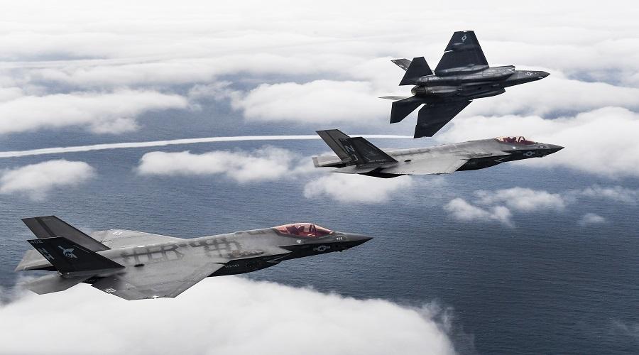 US Navy: samolot bojowy F-35C Lightning II gotowy do misji