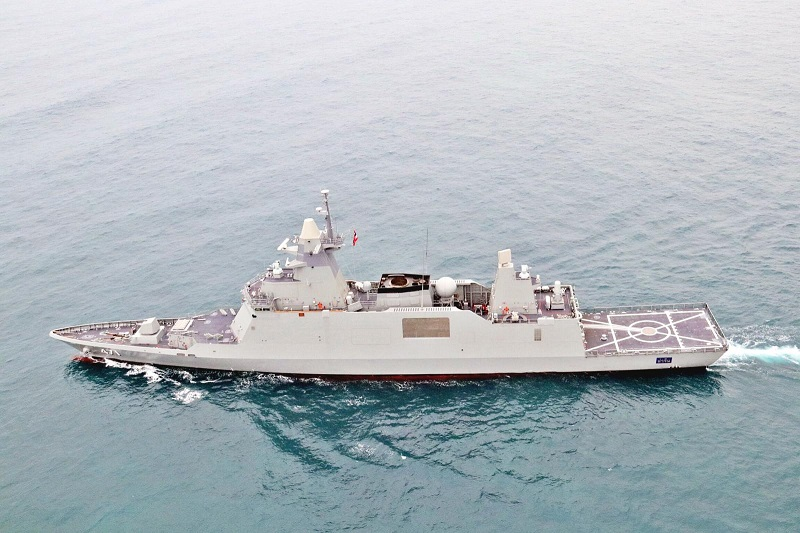 Fregata dla Tajlandii, to kolejny przykład możliwości koreańskiego przemysłu stoczniowego. Fot. DSME