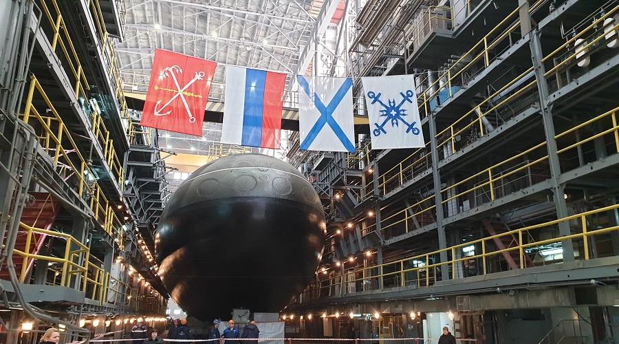 """Okręty podwodne: pierwsza """"Warszawianka"""" dla Floty Oceanu Spokojnego zwodowana"""