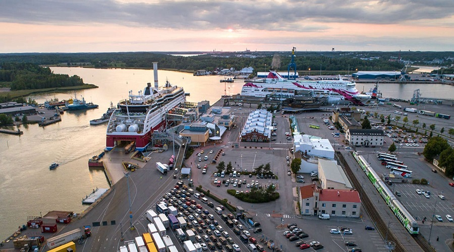 Terminal promowy w Turku / Portal Stoczniowy