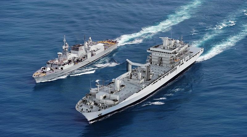 Kanadyjskie okręty wsparcia otrzymają szwedzkie radary Sea Giraffe AMB