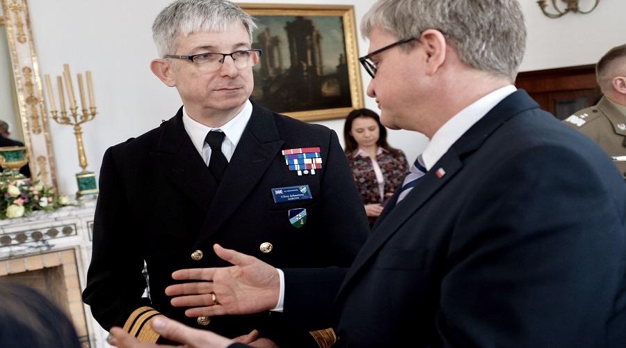 Dowódca morskich sił NATO o trzech-czterech fregatach dla polskiej marynarki