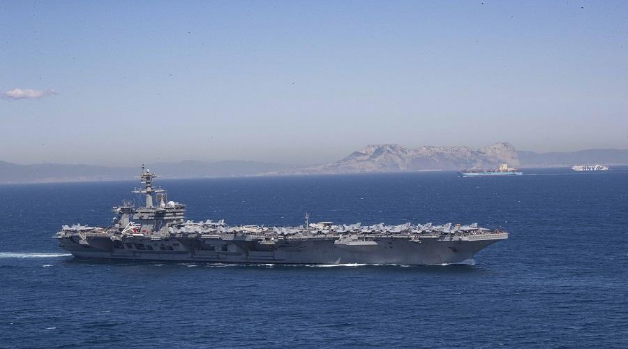 Lotniskowiec USS Abraham Lincoln wszedł na wody Morza Śródziemnego
